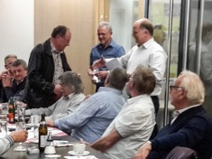 Ehrung Franz Weishar für 20 Jahre Mitgliedschaft