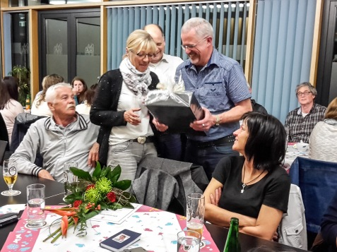 Ehrung Gaby Baier für 30 Jahre Mitgliedschaft