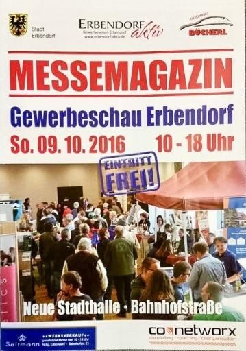 Messemagazin Titelseite