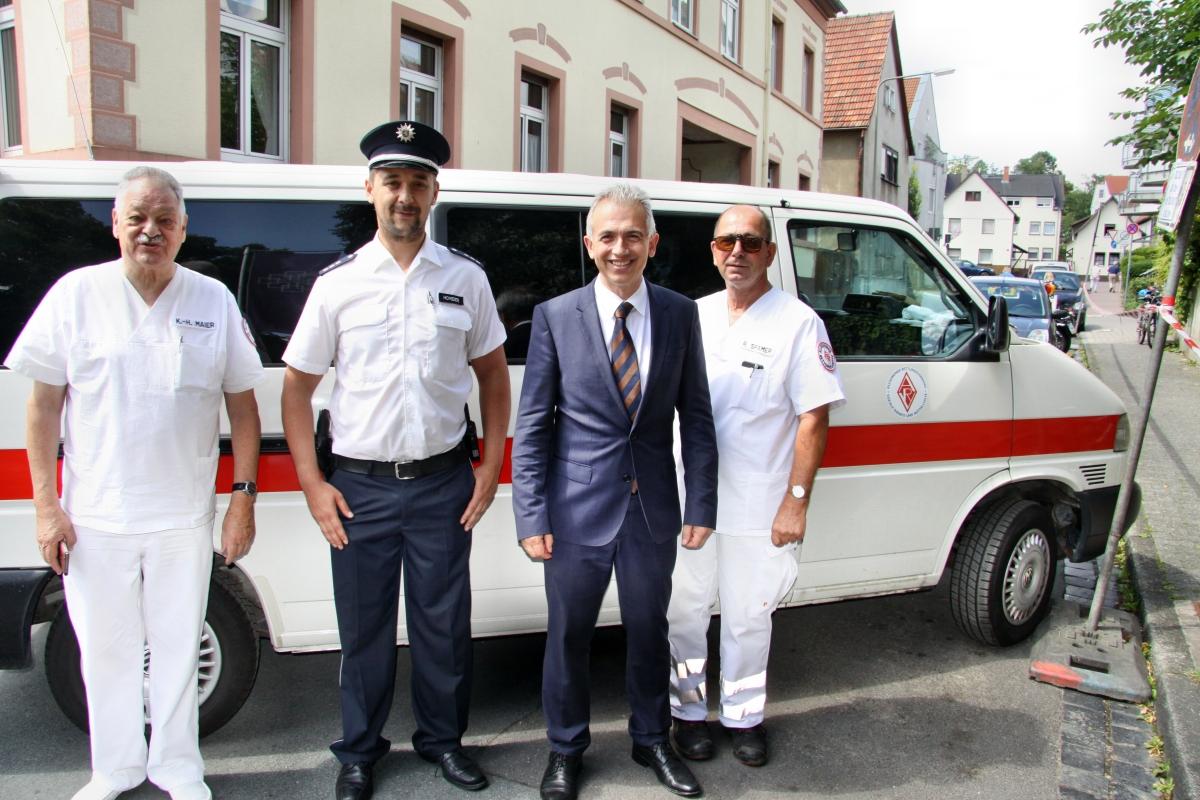 3 Tage volles Programm für die Helfer des ARV Frankfurt – zahlreiche Hilfeleistungen auf dem Zehntscheunenfest Praunheim