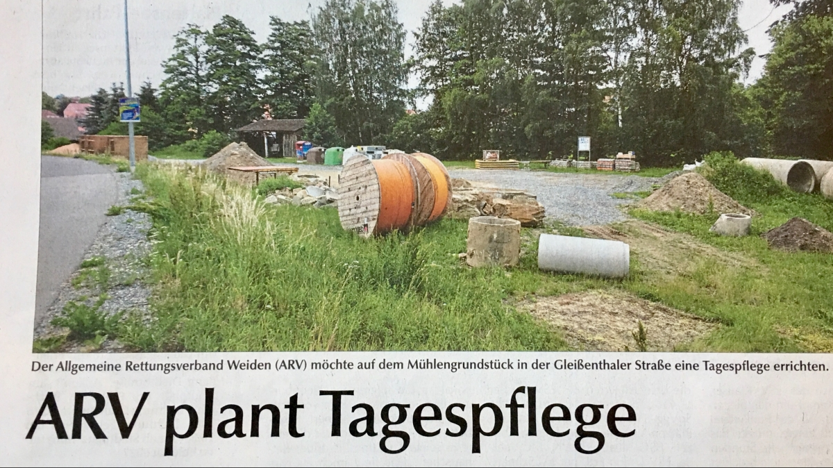 Tagespflegeeinrichtung für Windischeschenbach
