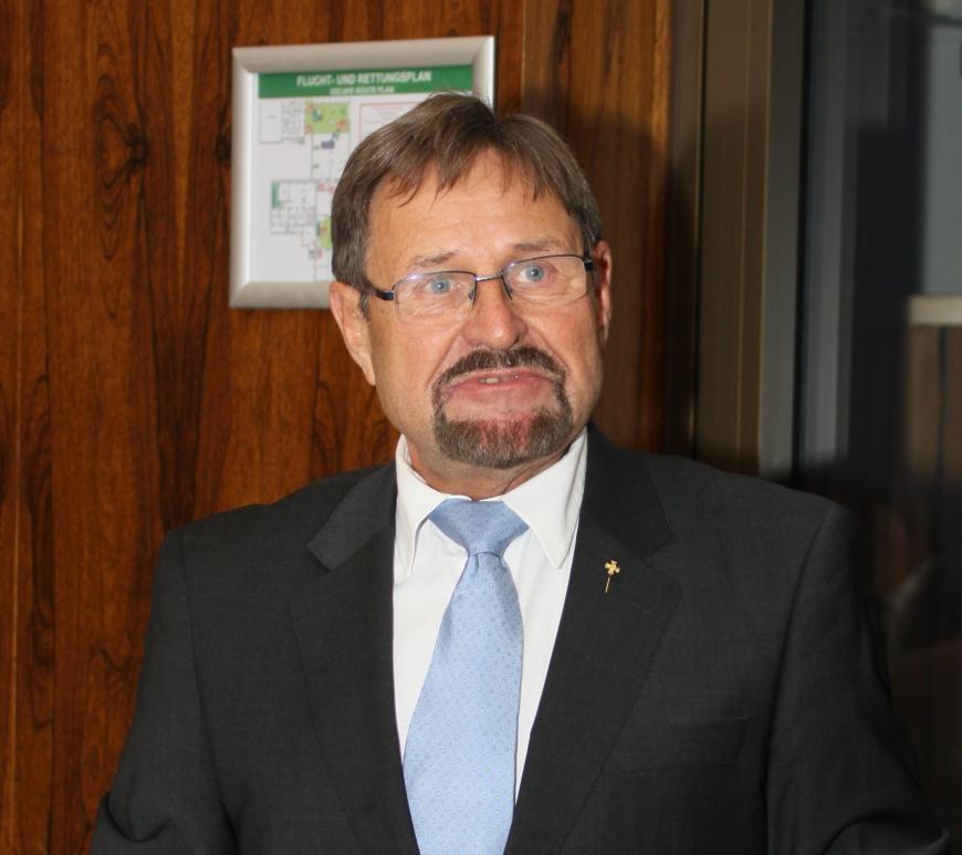 Neuer Vorstandsvorsitzender Jürgen Bereiter